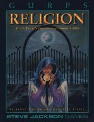 GURPS Religion: Gods, Priestly Powers and Cosmic Truths #6510