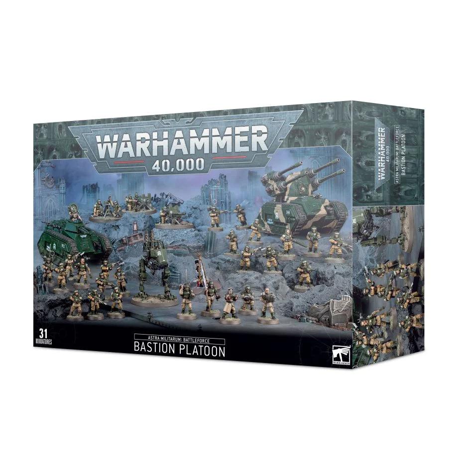 Astra Militarum: Battleforce – Bastion Platoon