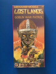 Grenadier Lost Lands Goblin War Patrol Metal Miniatures Set #3009 Sealed