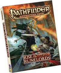 Pathfinder Adventure Path: Rise of the Runelords Anniversary Edition Paperback