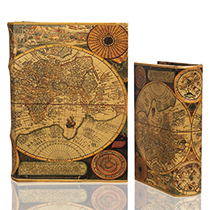 BK-93 World Map II Book Box