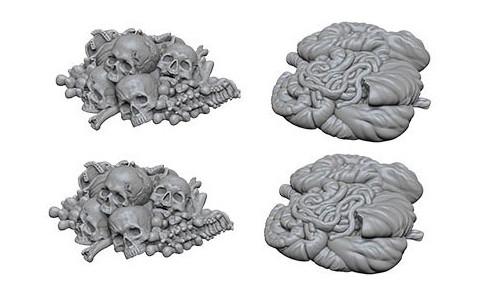 WZK 73422 - Pile of Bones & Entrails