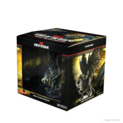 Icons of the Realms - Adult Black Dragon Premium Figure