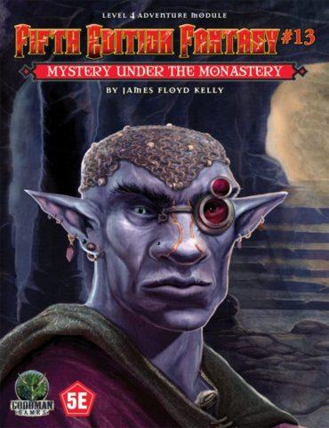 5E Fantasy #13 - Mystery Beneath the Monastery 55513