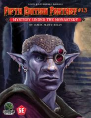 5E Fantasy #13 - Mystery Under the Monastery 55513