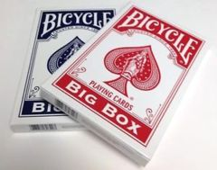 Bicycle Big Box Playing Cards - Red