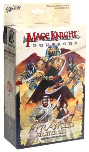 Mage Knight Dungeons: Pyramid Starter Set