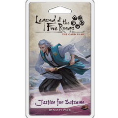 Legend of the Five Rings: Justice for Satsume Dynasty Pack