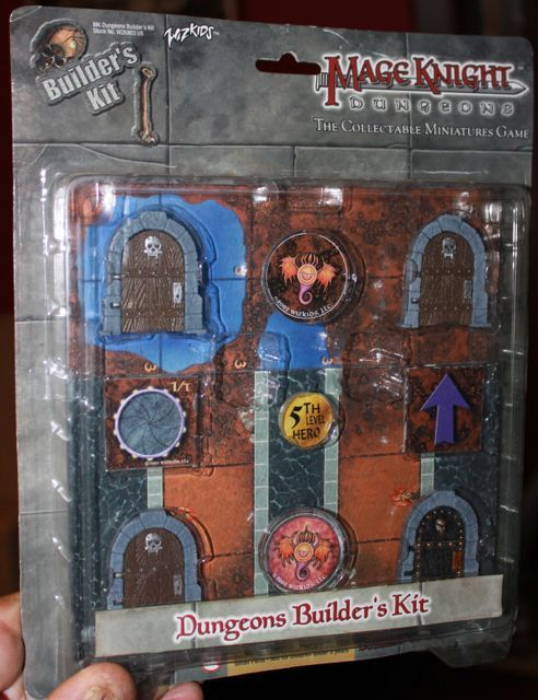 Mage Knight Dungeons Builders Kit 3