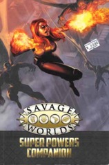 SWC-2: Savage Worlds Super Powers Companion HC