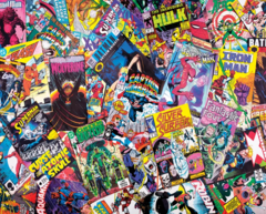 1000pc Comic Books Galore