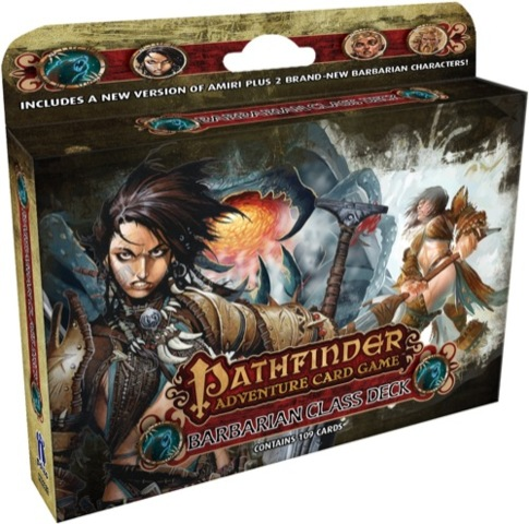 Pathfinder Adventure Card Game: Barbarian Class Deck - Board