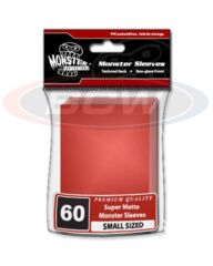 Monster Flat Matte YGO Size - Red