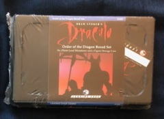 Bram Stoker's Dracula Order of the Dragon 25 mm Painted Miniature Set Leading Edge #51103 Sealed