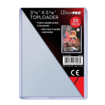 Ultra Pro - 3 1/2 x 5 1/8 Toploaders (25)