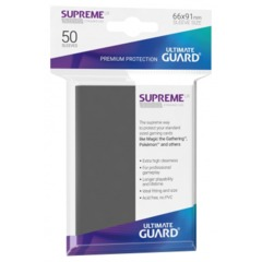 Ultimate Guard Supreme Sleeves Dark Grey