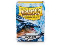 Dragon Shield Box 100 Matte Sapphire
