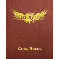 Wrath & Glory RPG: Core Rules - Limited Edition Red
