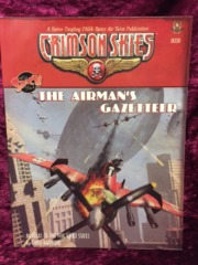 Crimson Skies Airman's Gazetteer Atlas (FASA) 8008