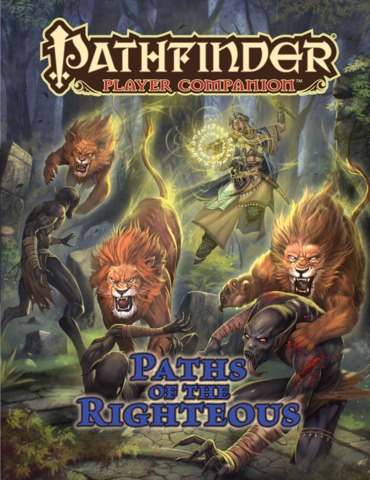 Pathfinder Player Companion: Paths of the Righteous 9474