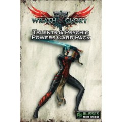 Warhammer 40K Wrath & Glory - Talents & Psychic Powers Card Pack