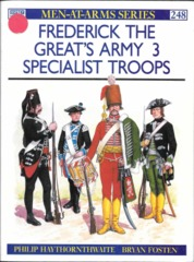 Frederick The Great's Army 3 Specialist Troops (Maa 248)