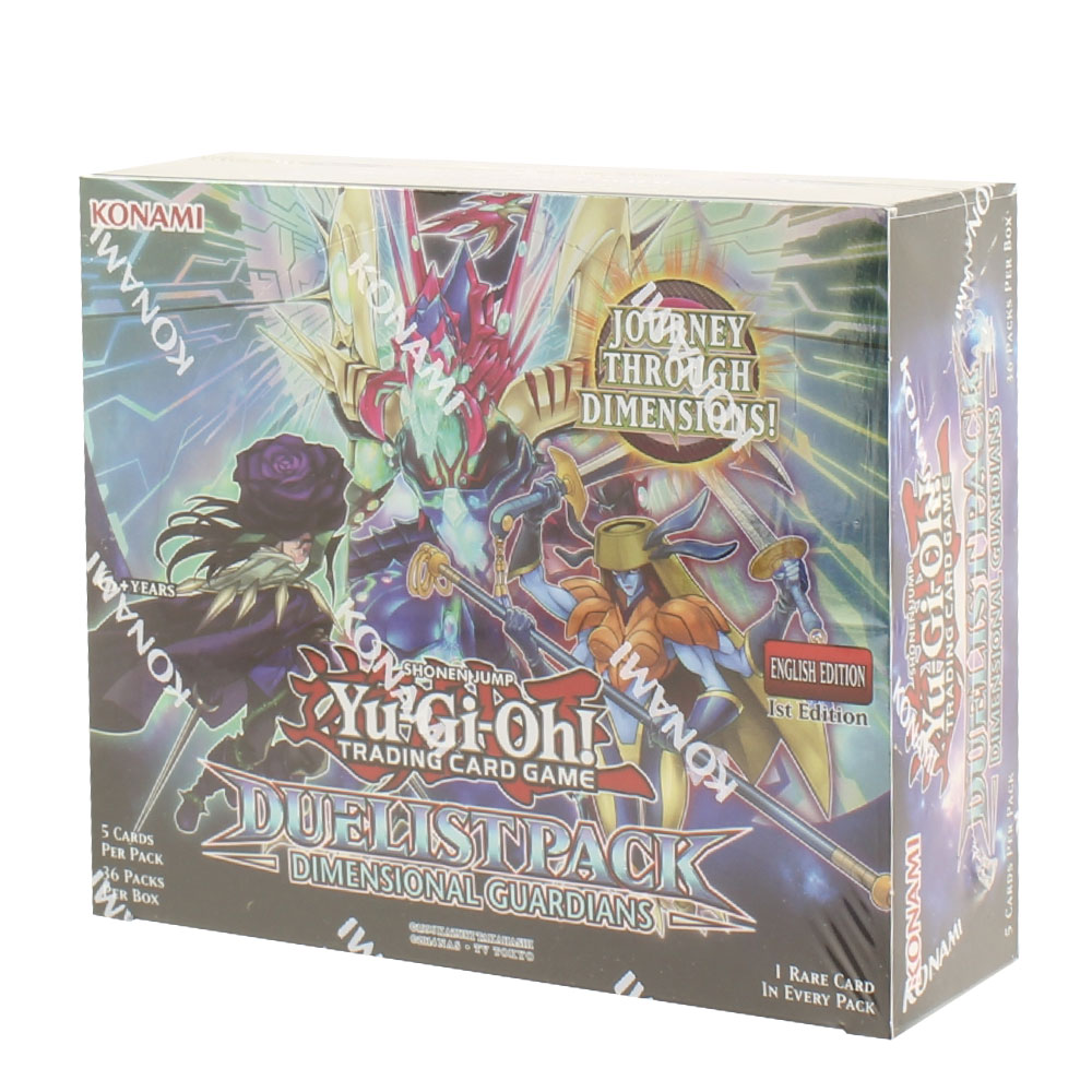 Yu-Gi-Oh! - Duelist Pack - Dimensional Guardians Booster Box