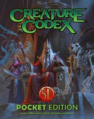 5E Creature Codex - Pocket Edition