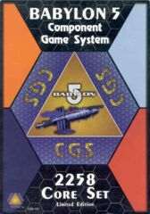 Babylon 5 Component Game System 2258 Core Set Limited Edition 4-Player CB5-101