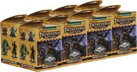 Pathfinder Battles Skull & Shackles BRICK of Booster