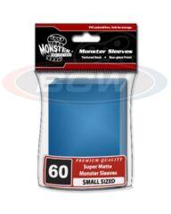 Monster Flat Matte YGO Size - Blue