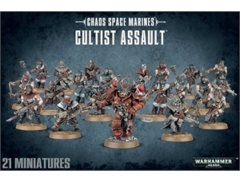 40k Chaos Space Marines: Cultist Assault