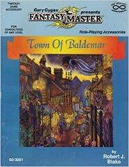 Gary Gygax Presents Fantasy Master - Town of Baldemar