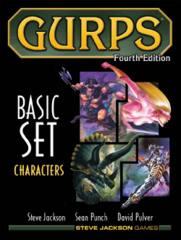 GURPS Basic Set 4E Characters