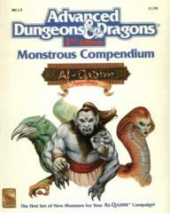 AD&D(2e) MC13 - Monstrous Compendium Al-Qadim Appendix 2129