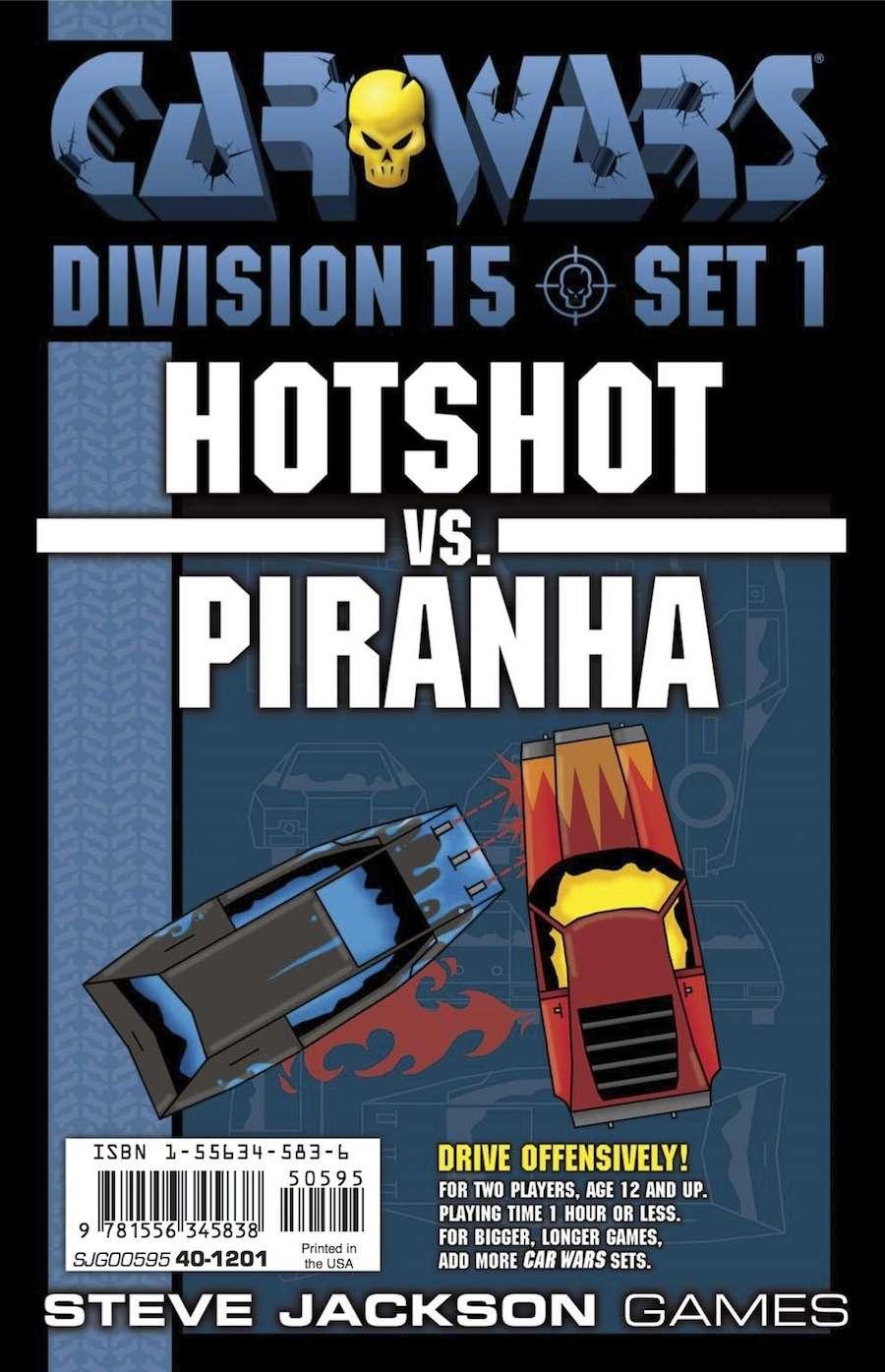 Car Wars - Division 15 Set 1 - Hotshot vs. Piranha