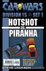 Car Wars - Division 15 Set 1 - Hotshot vs. Piranha