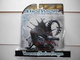 Mage Knight Venomous Shadow Dragon