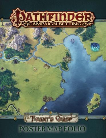 Pathfinder - Tyrant's Grasp Poster Map Folio