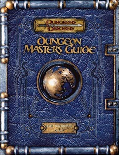 D&D 3.5 - Dungeon Masters Guide Premium Reprint HC