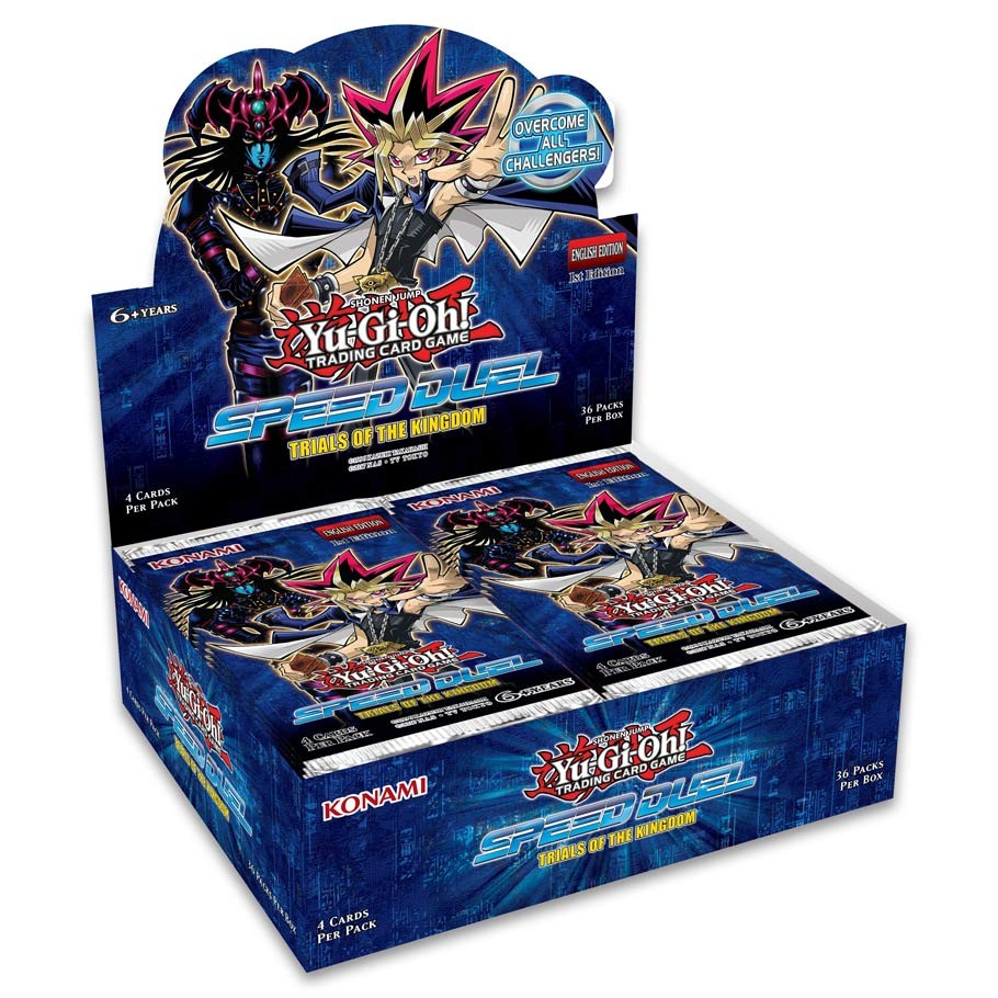 Yu-Gi-Oh! - Speed Duel - Trials of the Kingdom Booster Box