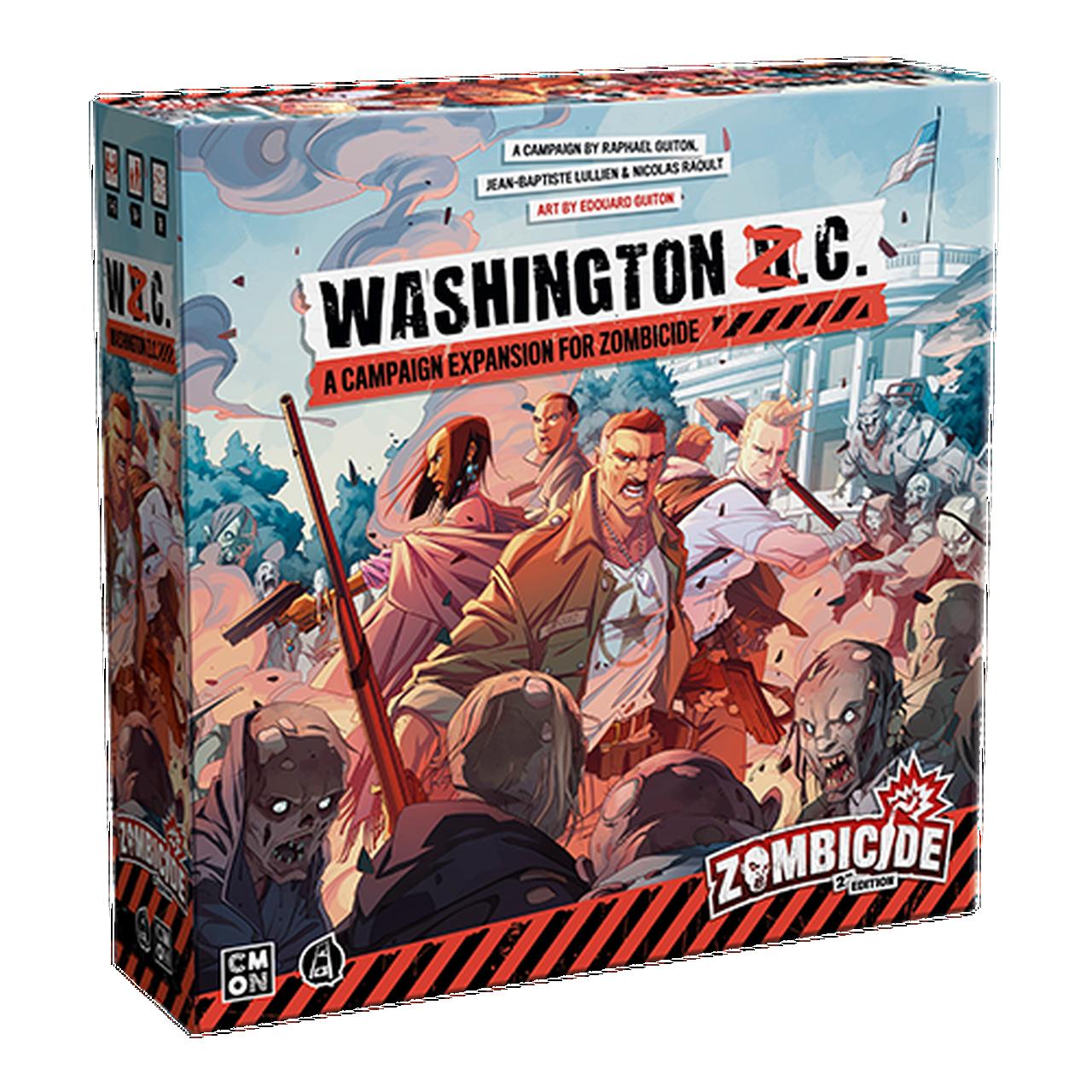 ZCD002 Zombicide Washington ZC Expansion