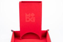 MDG Velvet Folding Dice Tower Red