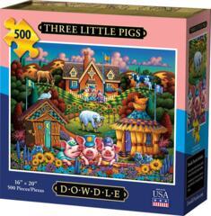 500pc - Three Little Pigs