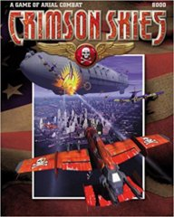 Crimson Skies Game of Aerial Combat BOX SET  (FASA)