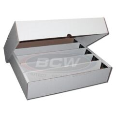 BCW - 5000 Count Storage Box (Full Lid)