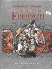 D&D 4E  Adventurer's Guide to Eberron