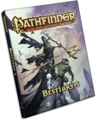 Pathfinder Roleplaying Game: Bestiary 5 Hardcover