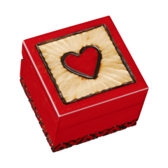 A-13 Crazy For You Heart Box
