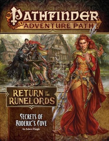 Pathfinder Adventure Path #133 - Secrets of Roderic's Cove